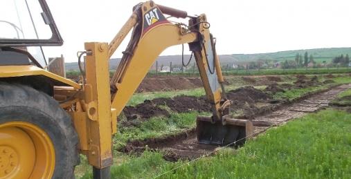 földmunkagép bérlés